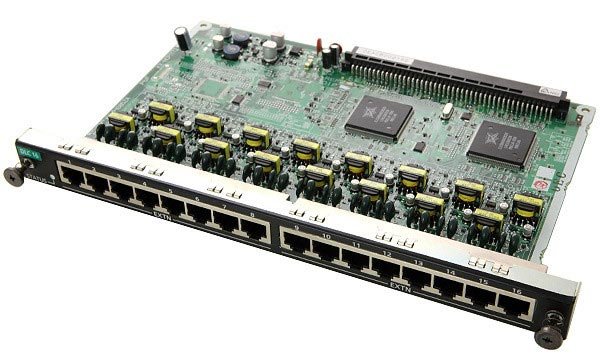Карта Panasonic KX-NCP1172XJ (Цифровая плата на 16 цифровых портов)