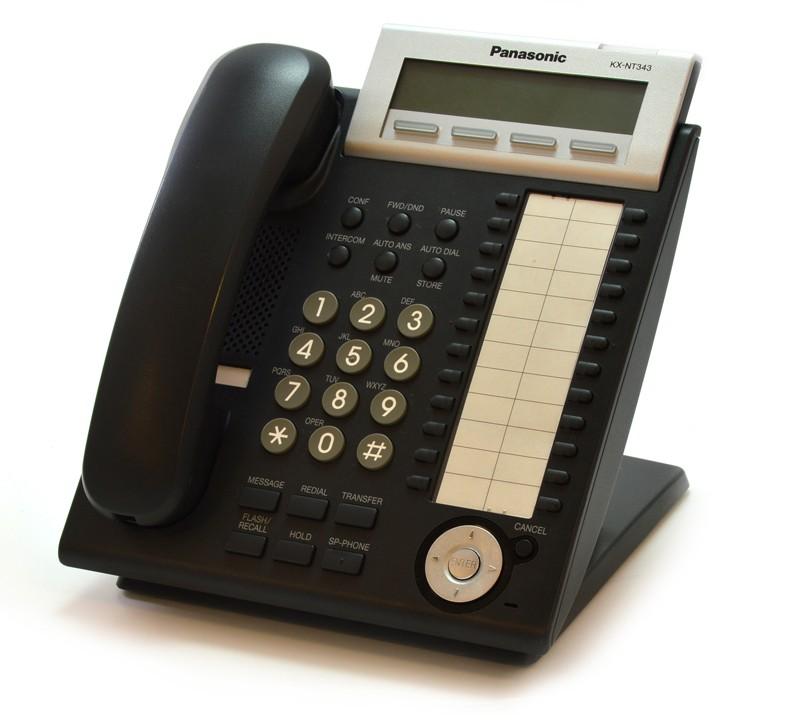 Panasonic KX-NT343RUB б/у