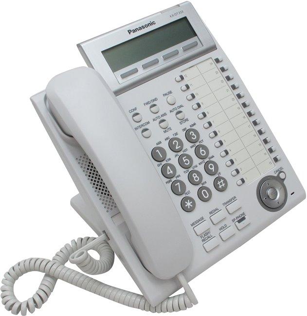 Системный телефон Panasonic KX-DT333RU б/у